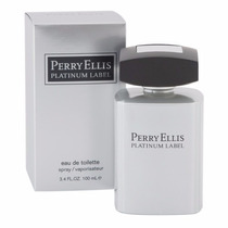 Perfume Perry Ellis Platinum Label Caballero 100ml