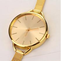 Reloj Acero Dama - Mujer :::: Dorado Y Plateado