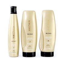 Kit Aneethun Blond System - Shampoo Máscara E Finalizador