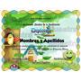 10 Plantillas Editables Para Diplomas Infantiles Preescolar