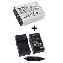 Bateria Np-85 + Carregador P/ Fuji Finepix Sl240 Sl260 Sl280