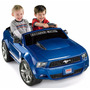 Power Wheels Blue Ford Mustang