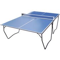 Mesa De Ping Pong Plegable C/ Ruedas Incluye Red 89-603
