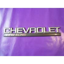 Emblema Chevrolet Tahoe Camioneta