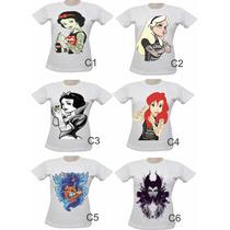 Camisas Femininas Masculinas 10 Unidades