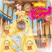 Kit Imprimible La Bella Y La Bestia Princesa Bella-candy Bar