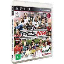 Pro Evolution Soccer 2014 - Pes 14 Jogo Ps3 - Em Disco