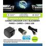 Cargador Blackberry 3 En 1 Micro Usb Original Nuevos