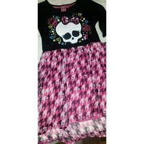 Vestido Exclusivas Original Monster High!