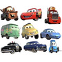 Carros 14 Miniaturas Carros Mcqueen Filme Carros Mack Dinoco