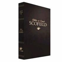 Bíblia De Estudo Scofield Capa Luxo - Preta Frete Grátis