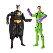 Boneco De Ação - Dc Comics - Batman Vs Charada - Mattel