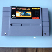 Cartucho Top Gear 1 Original - Super Nintendo - Snes