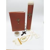 Set Biblia Latino Mexicana Para Primera Comunion (02ft02)