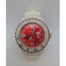 Reloj Ice Watch Precio De Liquidacion Color Rojo+blanco