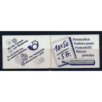 Suiça Material Escolar Lápis Carteiro 1987 Caderneta Selos