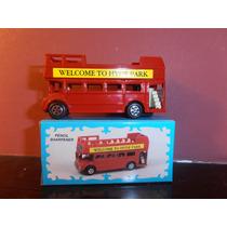 Omnibus 2 Pisos Turistico Die Cast - Devoto Toys