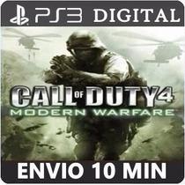 Call Of Duty 4 Modern Warfare Ps3 Psn