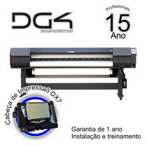Dg4 - Plotter - Eco-solvent - Epson - Cabeças Dx7
