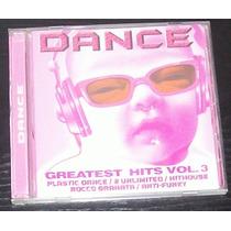 Dance - Greatest Hits Vol. 3 - Cd (p) 2005!