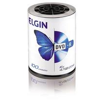 Dvd Virgem Dvd R Com 100 Unidades Atacado Promoção!