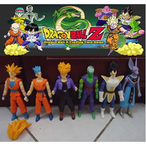 Bonecos Dragon Ball Articulado Kit C/ 6 Figuras Dragonball Z