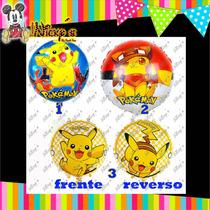 Globos De Picachu O Pokemon De 18 O 45x45 Cm Pokemon Go