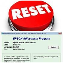 Reset Epson Error Almohadilla Stylus Photo 1430w Tx410 Nx330