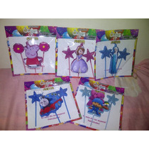 Velas Frozen Peppa Pig Princesa Sofia Minnion Elmo Thomas