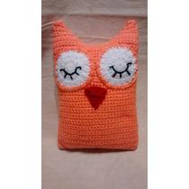 Buho Almohadon Apego Bb Crochet Amigurum Cristal Encantado
