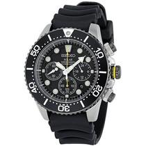 Relógio Seiko Ssc021 Solar Dive Cronografo Mergulho 20 Atm