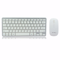 Combo Teclado Y Mouse Inalambricos Usb Pc Android Mac Gtia