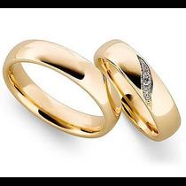 Argollas De Matrimonio Mod. Poesie En Oro 10k Matrimoniales