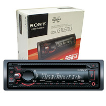 Auto Estereo Sony Cdx-gt1050 Entrada Usb Mp3 Auxiliar Nuevo