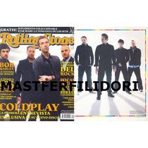 Coldplay Chris Martin Revista Rolling Stone Mexico #31 2005