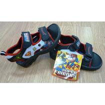 Superman Heroes Zandalia Romana Zapatos Niño Import