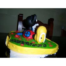 Adorno De Torta Casa De Mickey Mouse