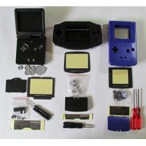 Carcaça Game Boy Color / Advance / Sp Nova, Com Chave X E Y.