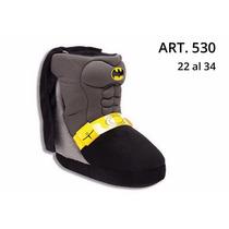 Pantuflas Botas De Batman... Las Mejores Del Mercado!!!