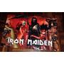 Poster Gigante - Iron Maiden Rock Antigo Raro