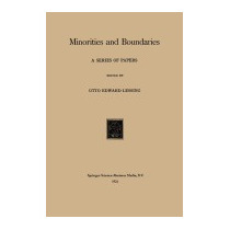 Libro Minorities And Boundaries: A Series Of, Otto Edward Le