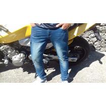 Calça Jeans Masculina Skinny Lycra Patrão Jeans Moda Momento