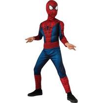 Disfraz Hombre Araña C/musculos Talla 4-6 Original Marvel