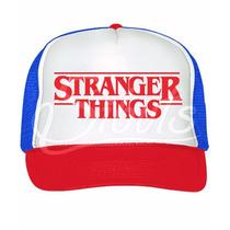 Gorra Trucker Stranger Things Dustin Serie Tv Netflix