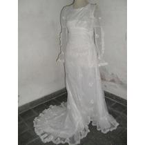 Hermoso Vestido De Novia Antiguo!!