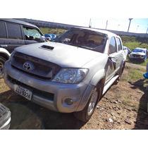 Sucata Hilux Srv 3.0 4x4 Diesel 2011 Para Retirada De Peças