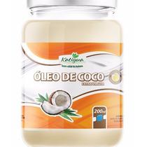 Kit Óleo De Coco Extra Virgem 200ml + Óleo De Rícino 30ml