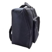 Capa Bag Top Acordeon 120 Baixos Master Luxo Vivo Preto