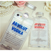 Funda Iphone 5 / 5s En Forma De Botella De Vodka Absolut