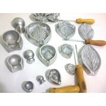Kit Frisadores De Aluminio Kit Para Rosas Eva Com Apostila
